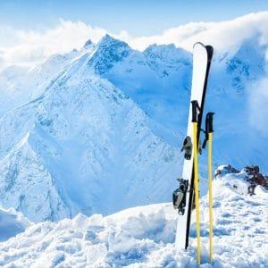 Départ en station de ski avec chauffeur privé