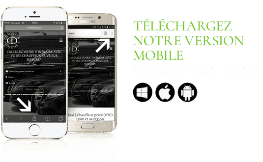 WebApp mobile VTC