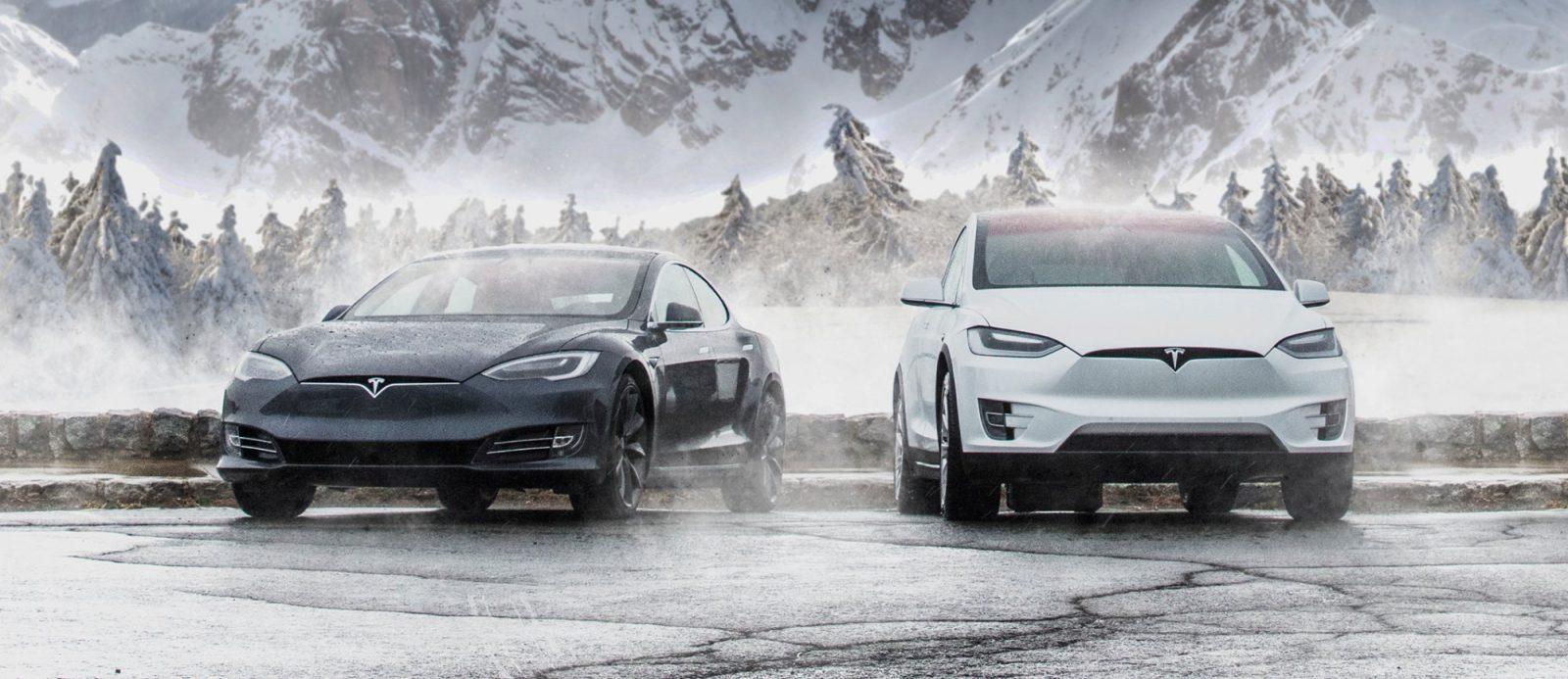 Transport en Tesla modèle X